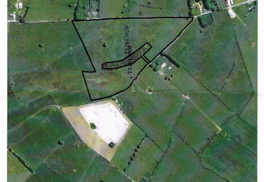 21 acres of top quality land with extensive road frontage at Scregg Rahara